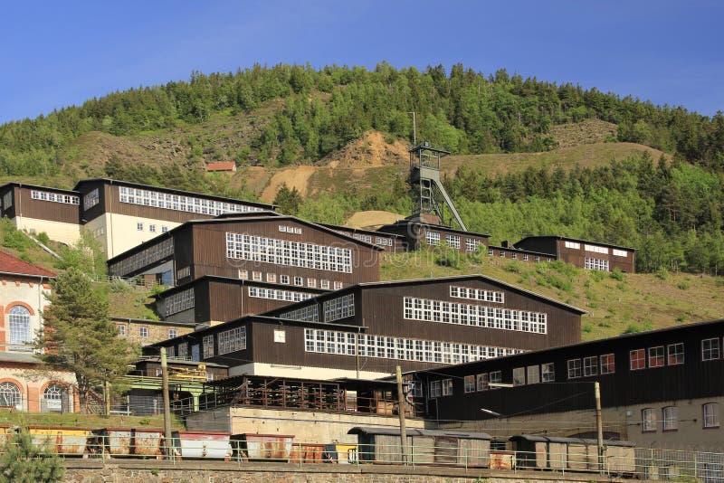 Mines de patrimoine mondial de l'UNESCO de Rammelsberg image libre de droits