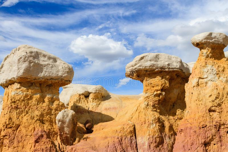 Mines de peinture de Calhan - le Colorado image stock