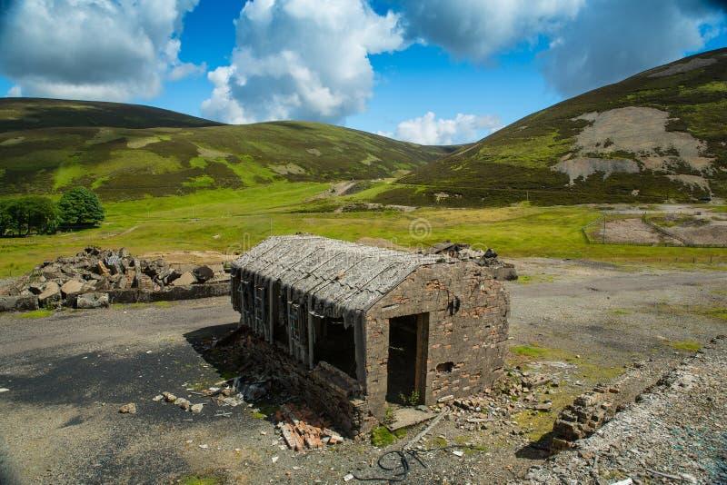 Mines minérales Wanlockhead, Dumfries et Galloway, Ecosse photo libre de droits