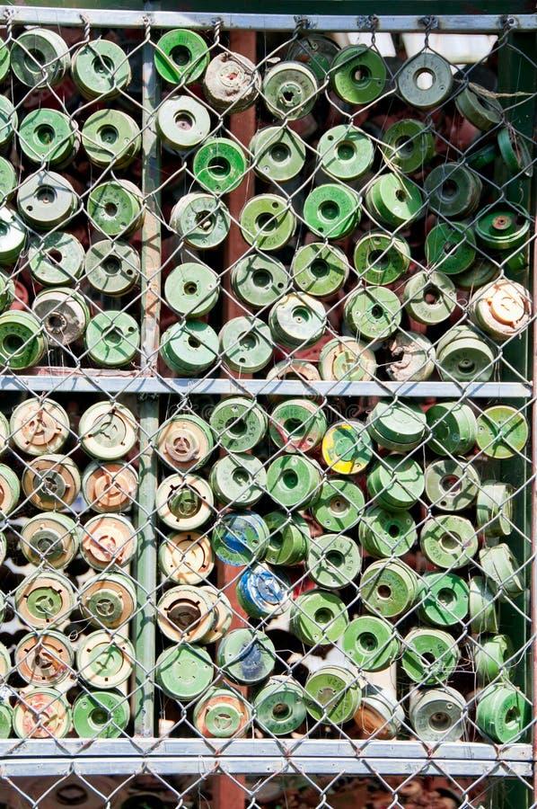 Mines terrestres image libre de droits