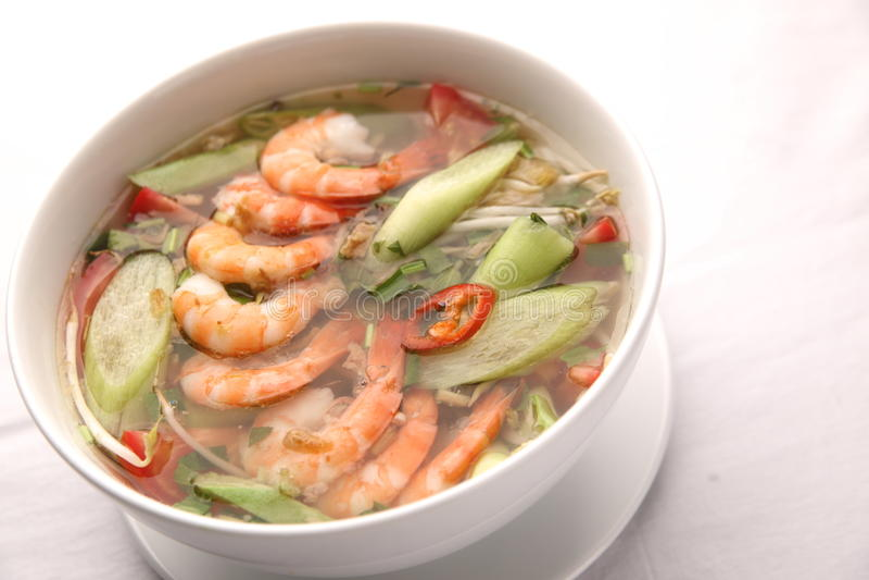 Minestra agrodolce vietnamita immagine stock
