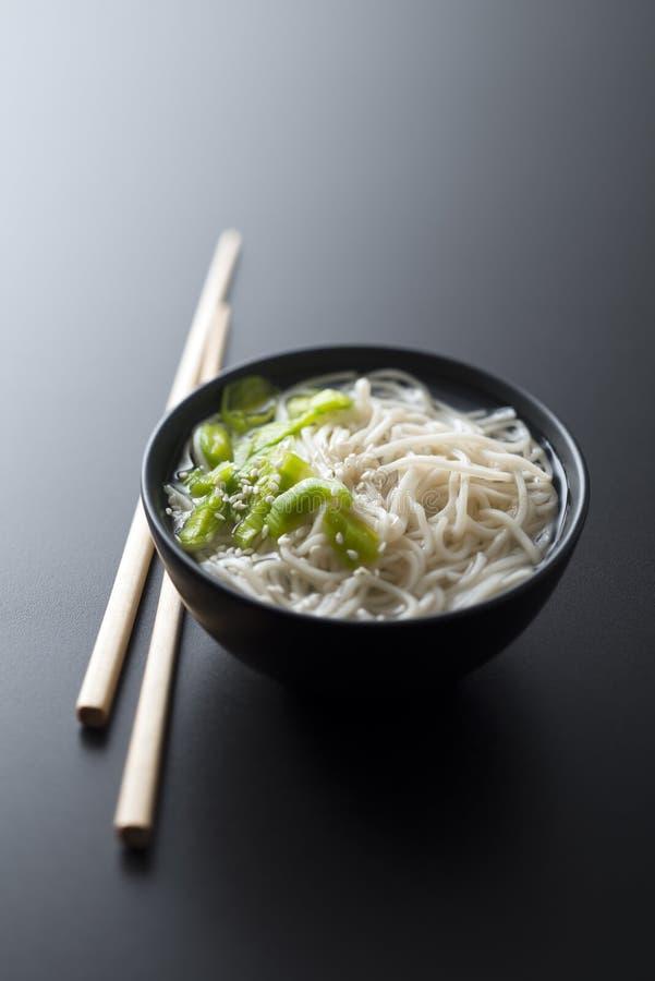 Minestra cinese immagine stock