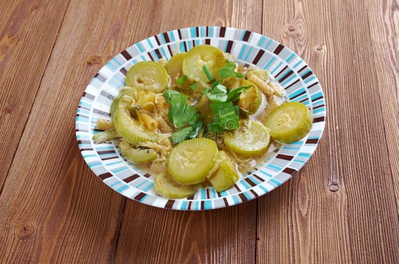 Minestra di Zucchine lizenzfreies stockfoto