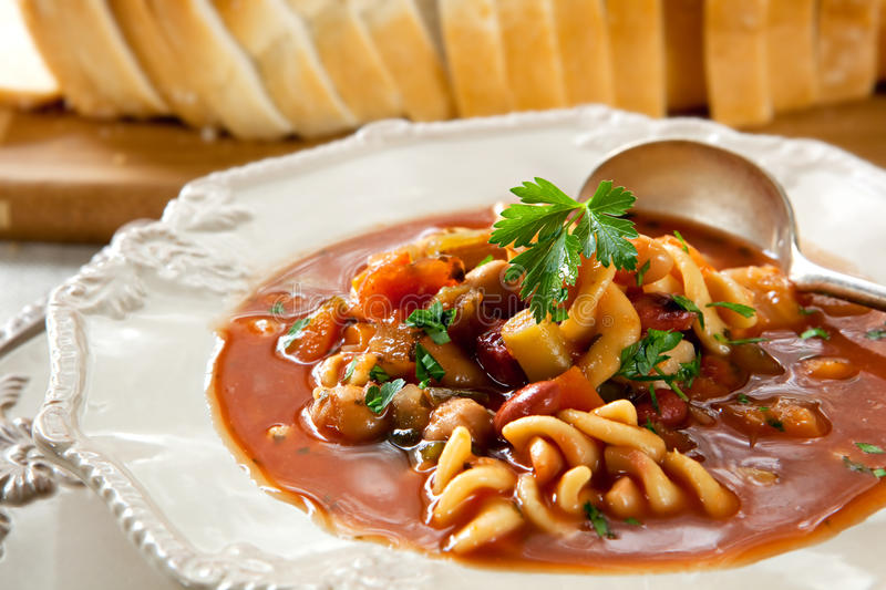 Minestrone images stock