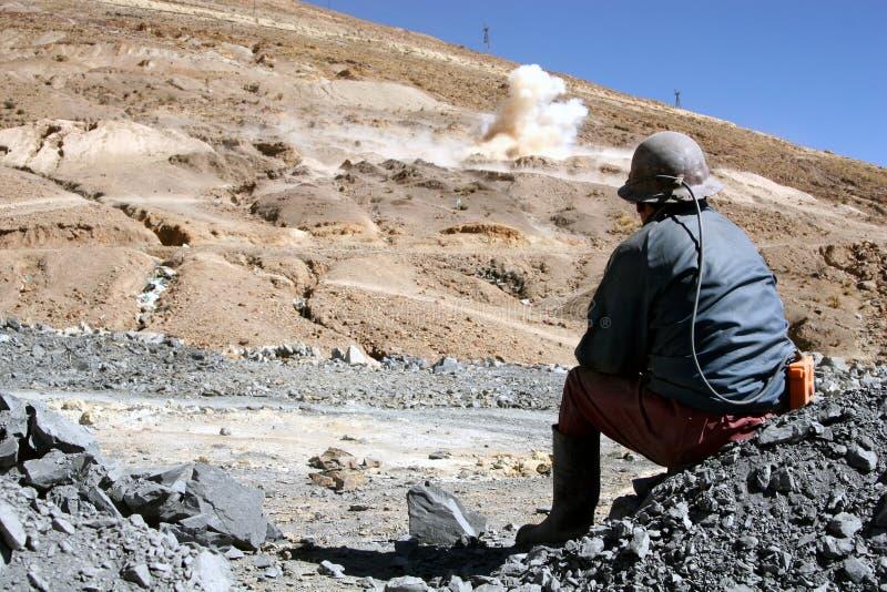 Mineur photo libre de droits