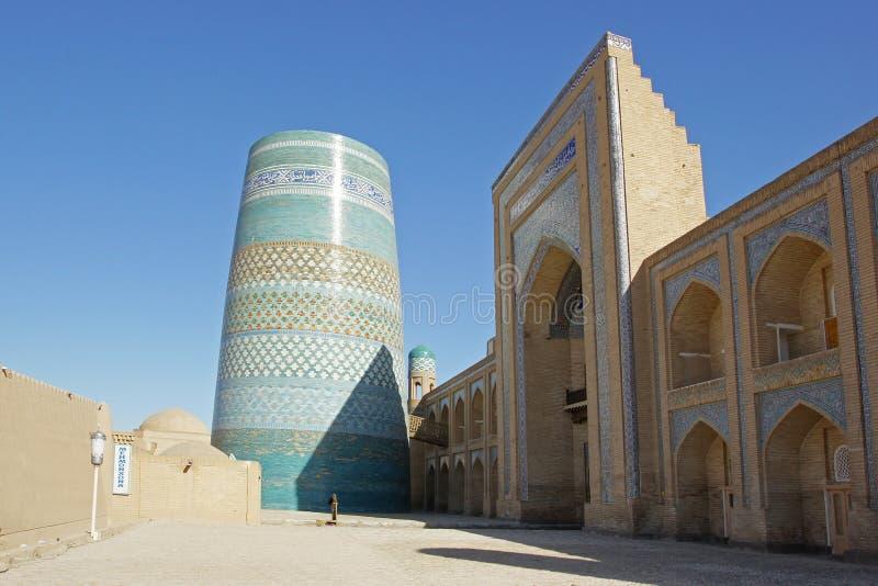 Mineur de Kalta, Khiva, Uzbekistan photo libre de droits