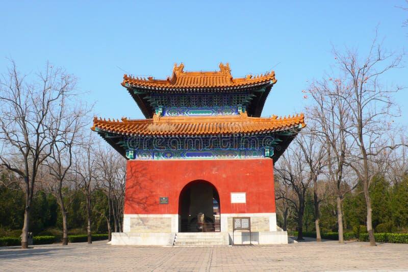ming усыпальницы стоковое изображение