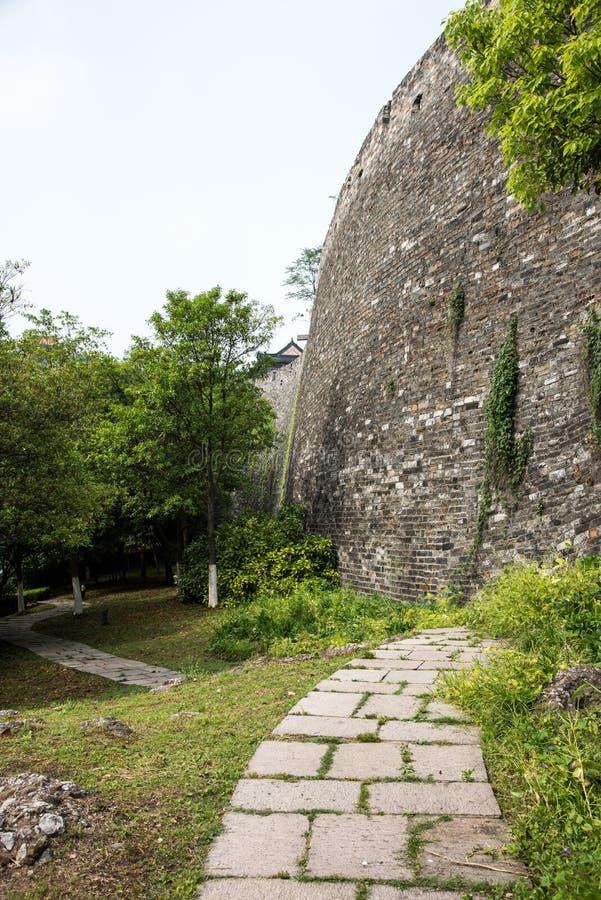 Ming Dynasty City Wall imágenes de archivo libres de regalías