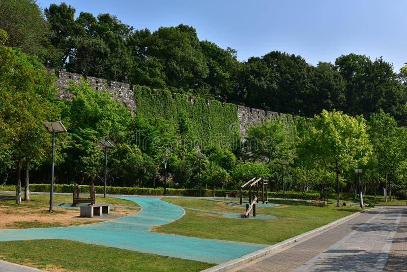 Download Ming Dynasty City Wall In De Lente Stock Afbeelding - Afbeelding bestaande uit climbing, botanisch: 54084417