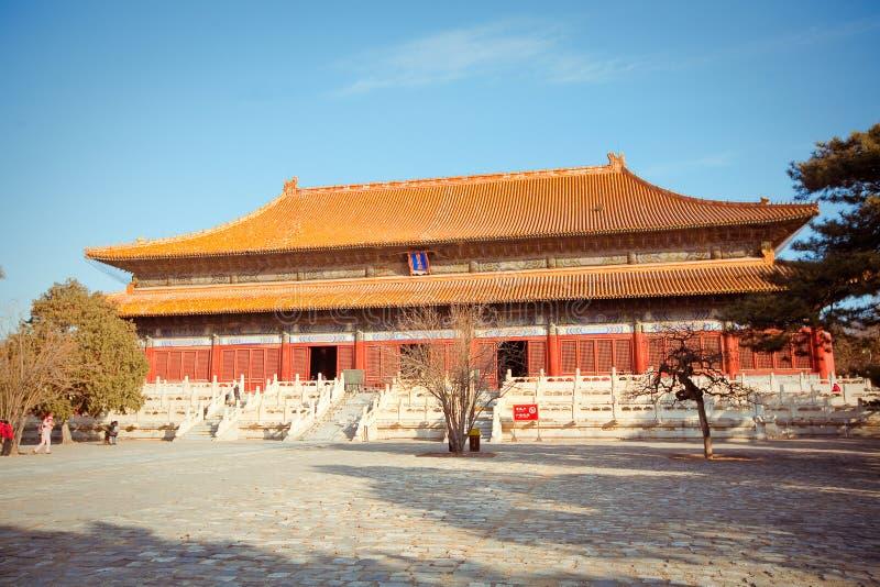 Ming Dynasty Tombs en Pekín, China imagenes de archivo