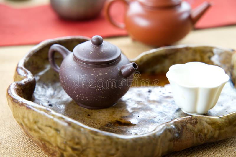 Ming Dynasty Yixing Clay Teapot stock photography