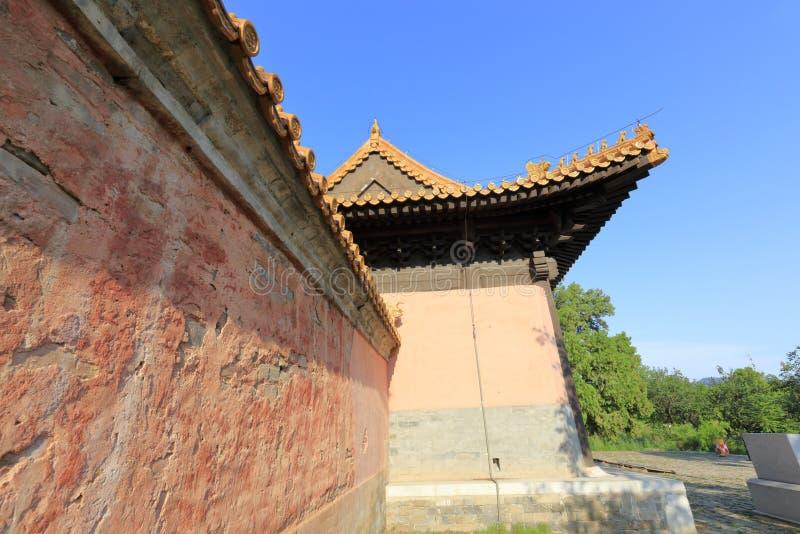 Ming Dynasty Yuling Mausoleum, adobe rgb imagen de archivo