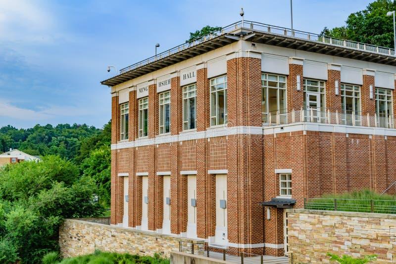 Ming Hsieh Hall chez Virginia University occidentale photo libre de droits