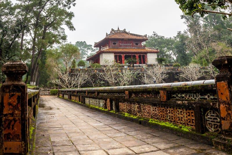 Ming Mang Emperor Tomb na matiz, Vietname fotografia de stock