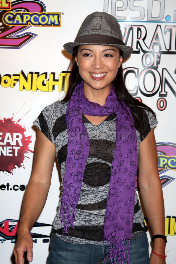 Ming-Na. Arriving at the Wrath of Con Party at the Hard Rock Hotel in San Diego, CA on July 24, 2009 2009 Kathy Hutchins / Hutchins Photo stock photo