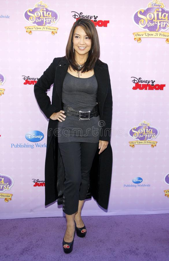 Ming-Na Wen photographie stock