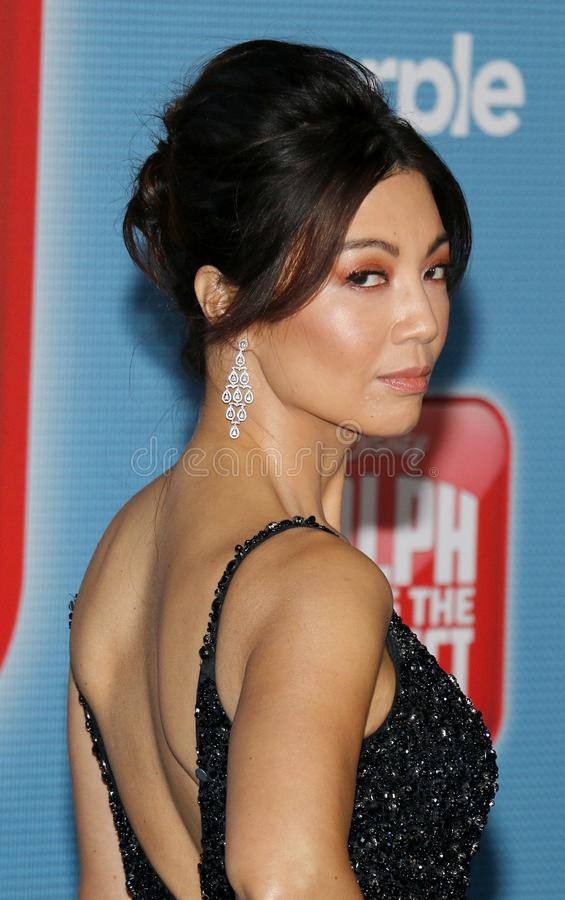 Ming-Na Wen photo stock