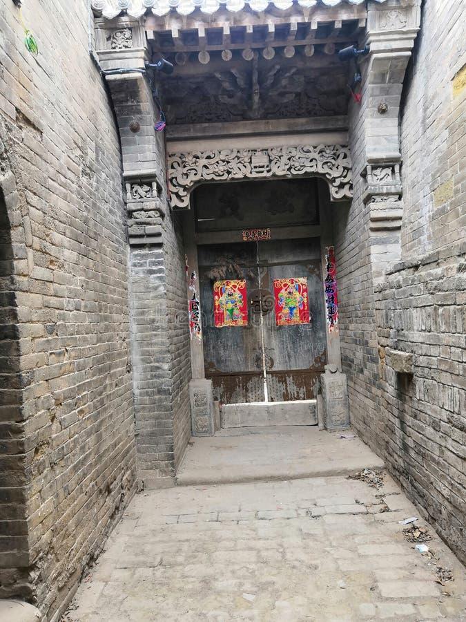 Ming och Qing Dynasties The behåller den arkitektoniska gruppen arkivfoton