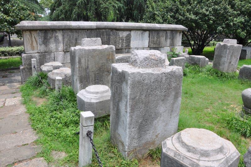 Ming Palace Ruins, Nanjing, China stock photography