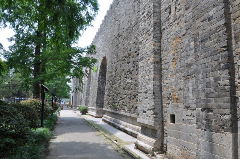 Ming Palace Ruins, Nanjing, China Royalty Free Stock Images