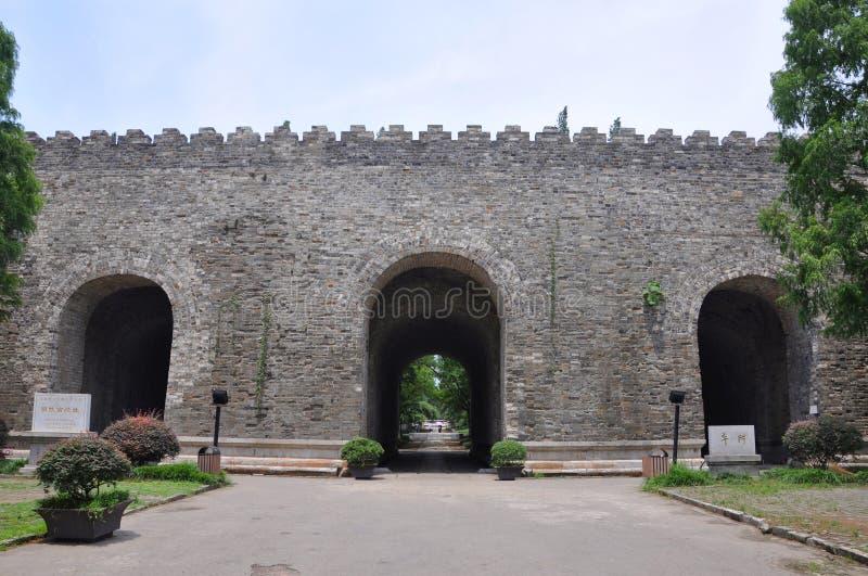 Ming Palace Ruins, Nanjing, China Royalty Free Stock Photos