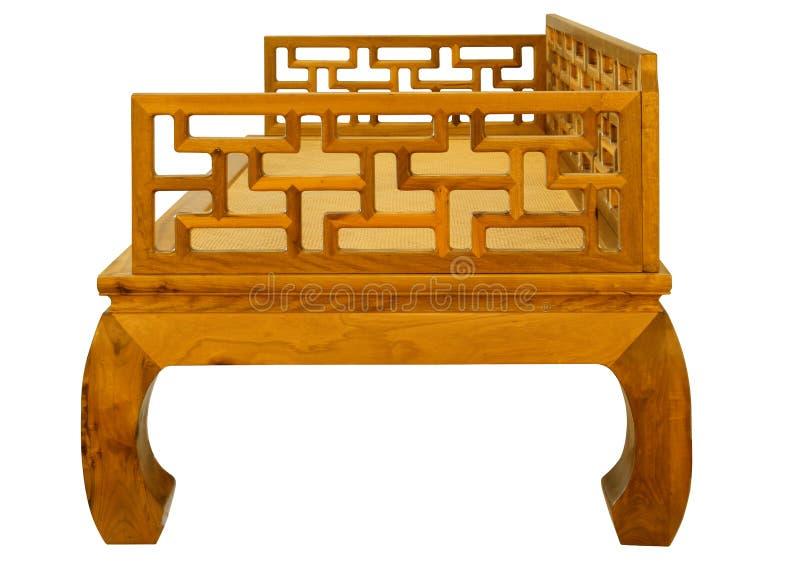 Ming-stil möblemang av ädelträ royaltyfri bild
