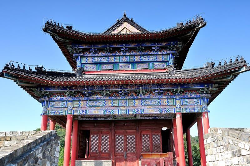 Ming stor vägg royaltyfri bild
