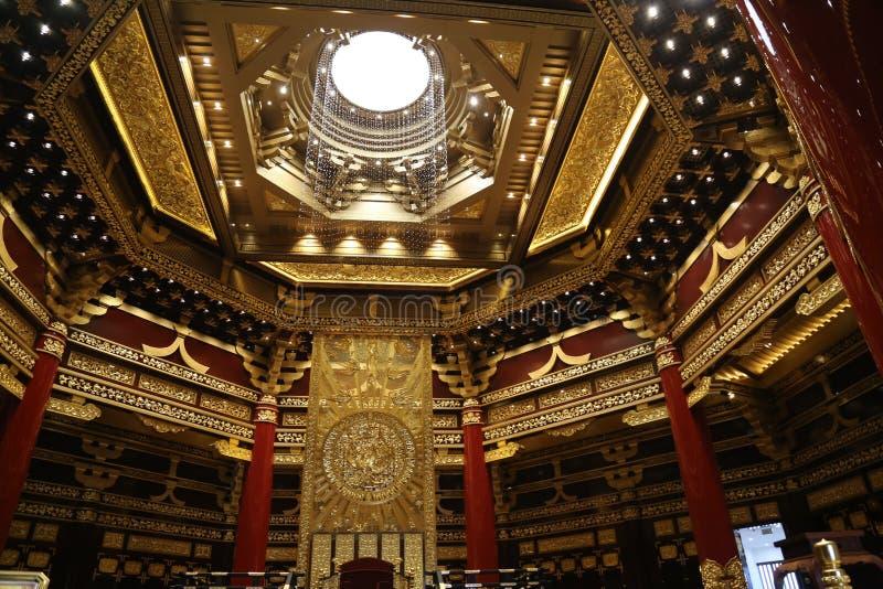 Ming Temple Interior lizenzfreies stockbild