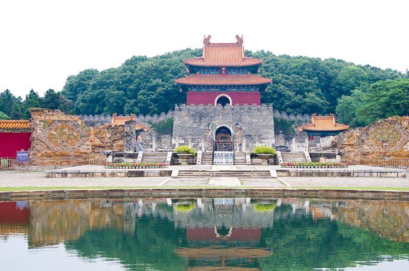 Ming Tomb lizenzfreies stockfoto