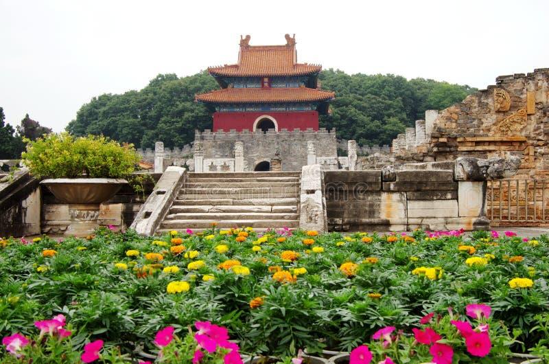 Ming Tomb lizenzfreie stockbilder