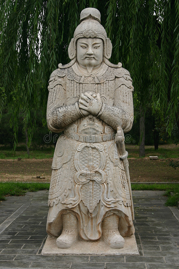 ming tombs royaltyfri foto