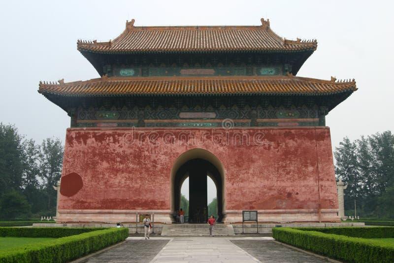 The Ming Tombs stock photos