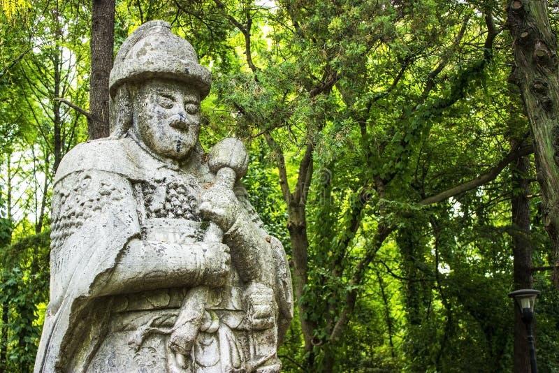 Ming Xiaoling坟茔在南京中国 库存图片