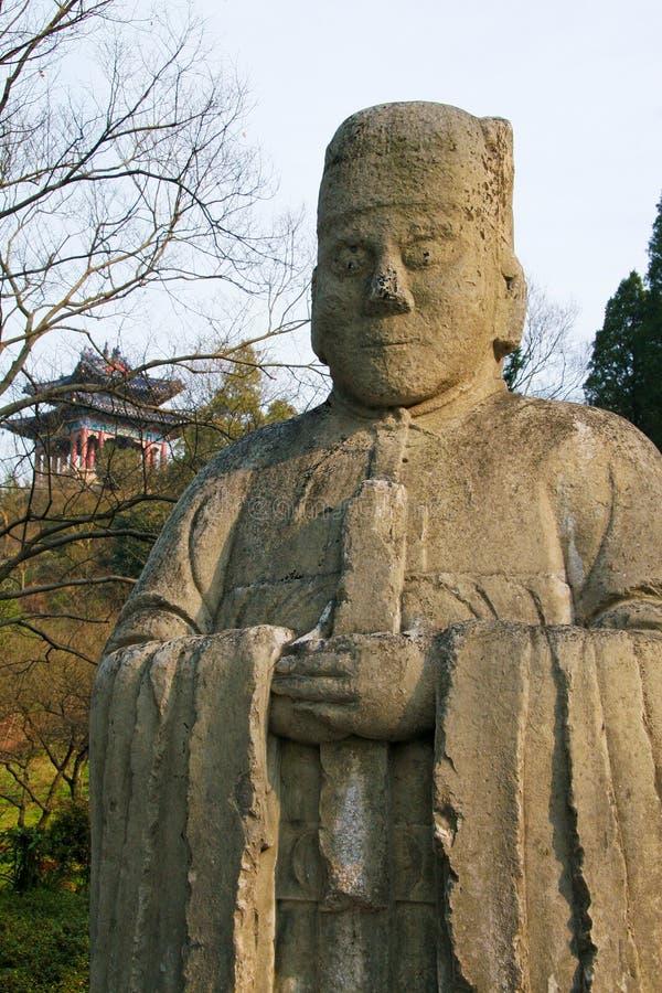 Ming Xiaoling Mausoleum Royalty Free Stock Photo
