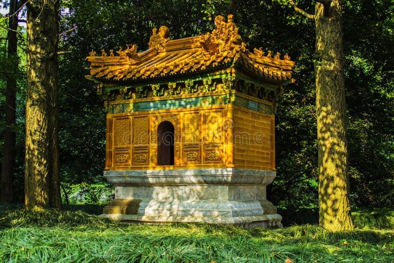 Ming Xiaoling Tombs in Nanjing China. Ancient Chinese Censer at the Ming Tombs in Nanjing China stock image