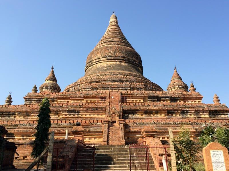 Mingala zedipagod, Bagan, Myanmar arkivfoton