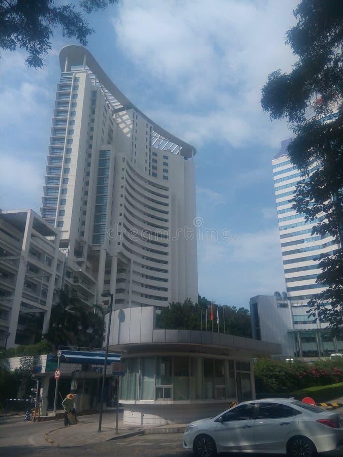 Minghua konwenci Międzynarodowy Centre w Shenzhen sheKou zdjęcie stock