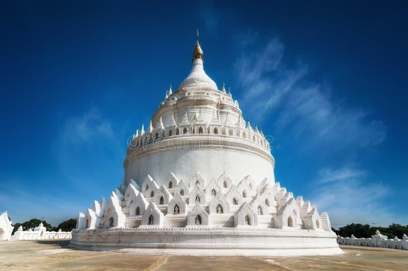 Mingun的Hsinbyume塔 曼德勒,缅甸(缅甸) 图库摄影