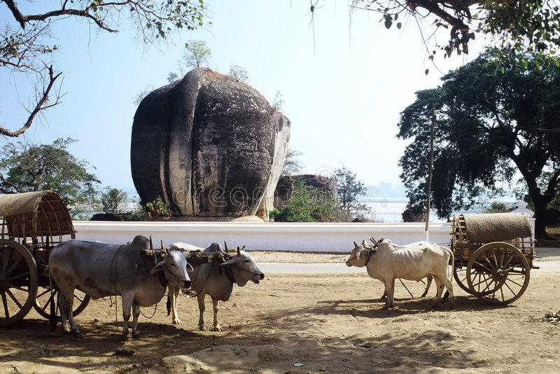 mingun myanmar стоковые изображения