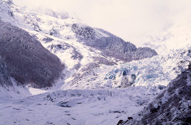 Mingyong Glacier Stock Images