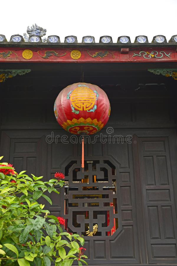 Minh Huong Communal House. The Minh Huong Communal House in the historic UNESCO listed central Vietnamese town of Hoi An royalty free stock photo