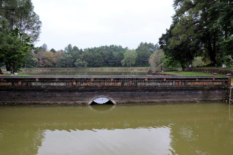 Minh Mang Royal Tomb Hue - Vietnam Asia. Minh Mang Royal Tomb Hue a beautiful place - Vietnam Asia stock photos