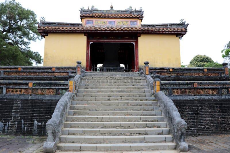 Minh Mang Royal Tomb Hue - Vietnam Asia. Minh Mang Royal Tomb Hue a beautiful place - Vietnam Asia royalty free stock photography