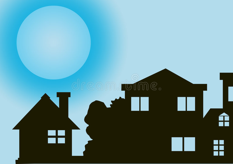 Minha casa ilustração do vetor
