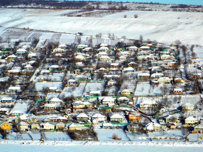 Minha casa doce home no inverno fotografia de stock royalty free