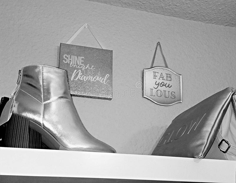Minha forma do armário imagens de stock