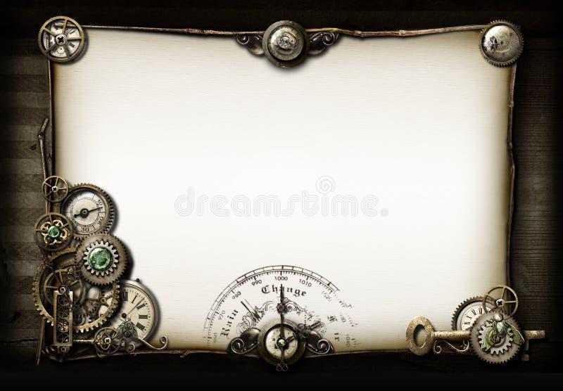 Minhas coisas favoritas (de Steampunk) ilustração stock