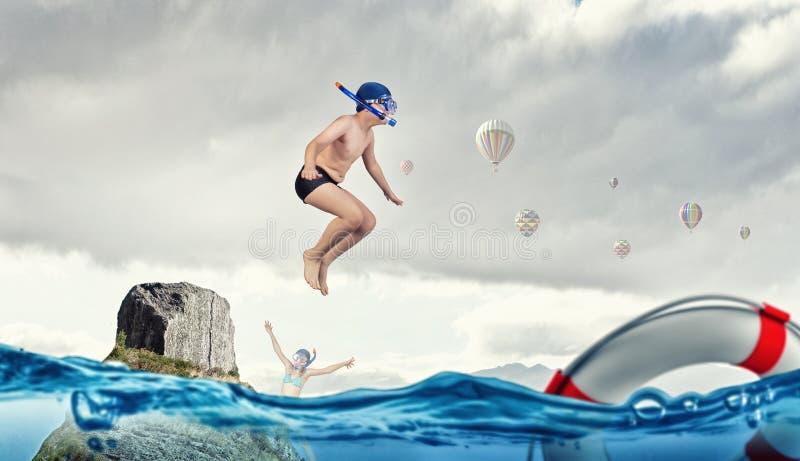 Minhas grandes férias de verão imagens de stock