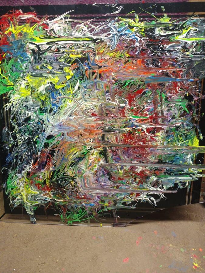 Minhas pinturas tendem a provocar a gravidade foto de stock royalty free