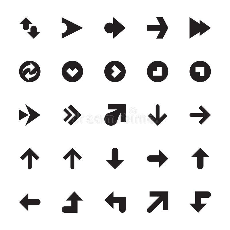 Mini Arrows Vetora Icons 7 ilustração royalty free